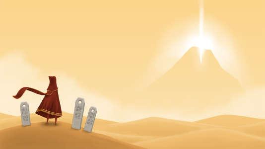 «Journey»,développé par thatgamecompany et édité par Sony Computer Entertainment