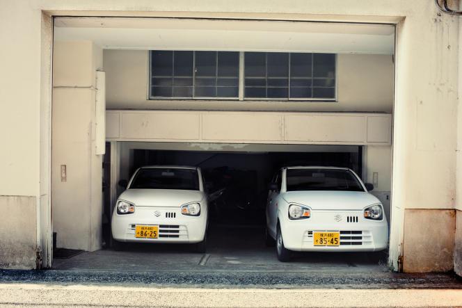 Suzuki, aussi concepteur de l'Alto, est l'un des deux constructeurs les plus présents sur le créneau des «kei cars», reconnaissables à leurs plaques d'immatriculation jaunes.