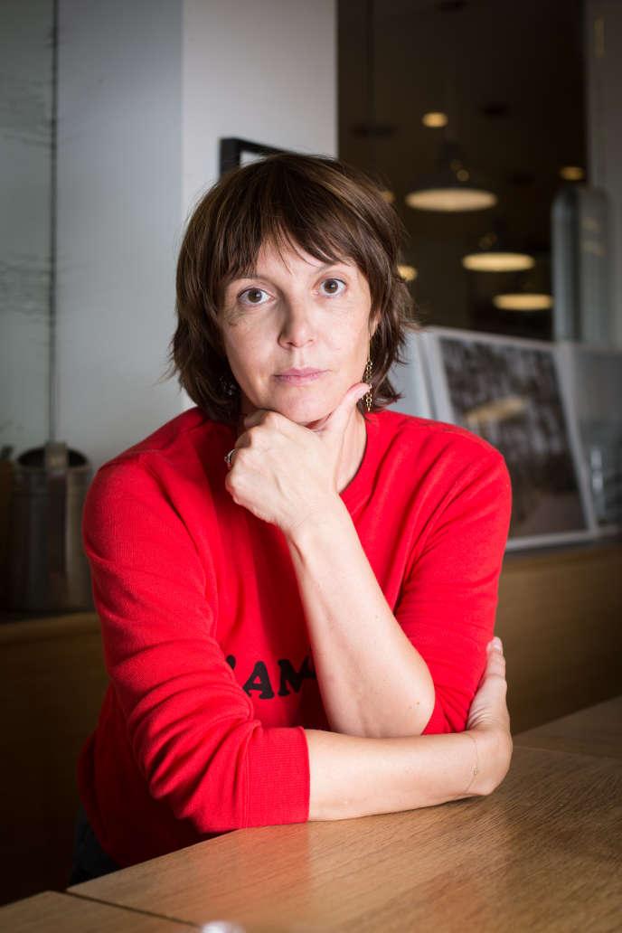 Delphine Plisson propriétaire de l'épicerie-restaurant Maison Plisson.