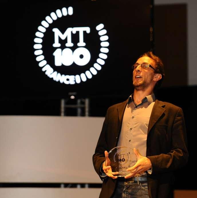Gregory Pacini, troisième prix du jury national 2015.
