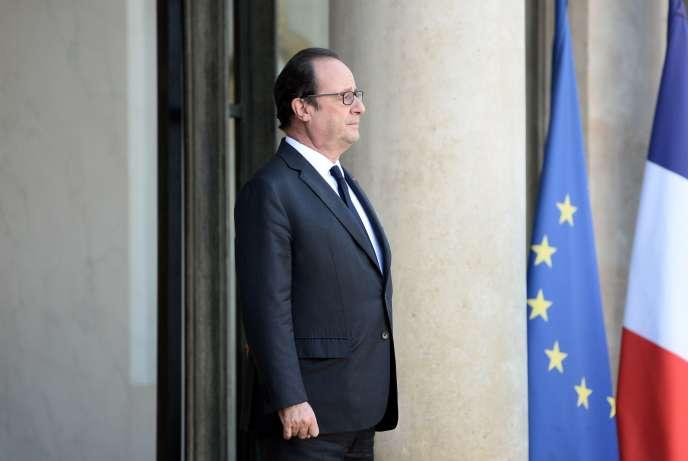 Francois Hollande à l'Elysée, le 29 septembre.