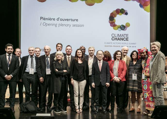 Ouverture du sommet Climate Chance des acteurs non-étatiques engagés en faveur du climat