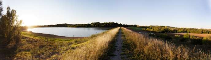 Le barrage de Fourogue.