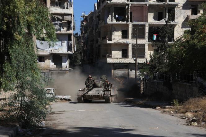 Durant le week-end, les forces pro-Assad se sont emparées de la zone industrielle d'Al-Chokaïef, après avoir repris le contrôle du camp palestinien d'Handarat et de l'hôpital Al-Kindi.