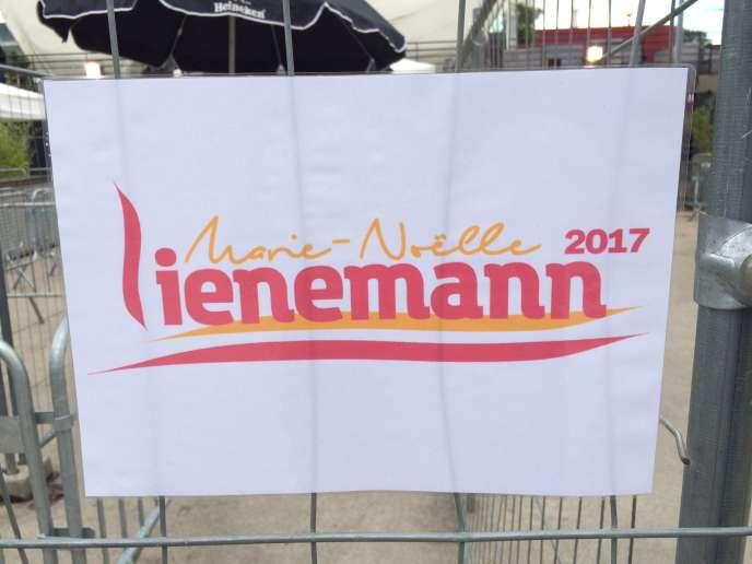 Marie-Noëlle Lienemann a lancé sa candidature à la primaire de la gauche, samedi1eroctobre, à Paris.