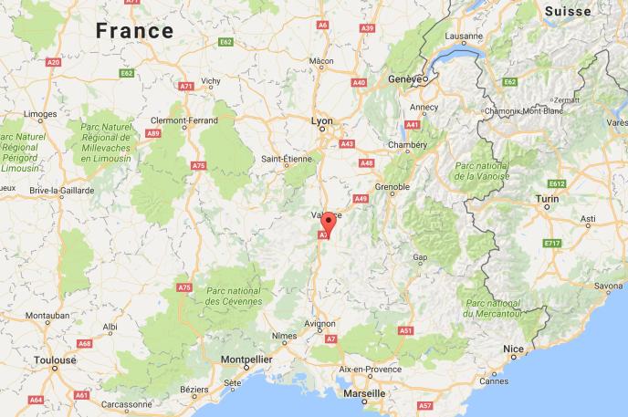 La ville d'Allex, 2500 habitants, est située à une vingtaine de kilomètres de Valence.