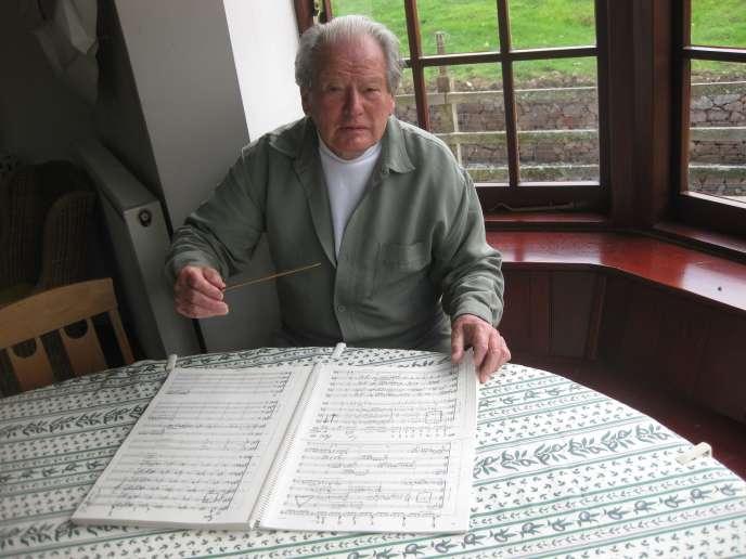 Le violoniste et chef d'orchestreNeville Marriner en juin 2009.