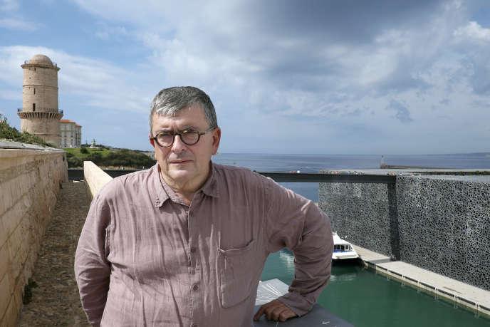 Le directeur du MuCEM, Jean-François Chougnet, à Marseille, en septembre 2014.