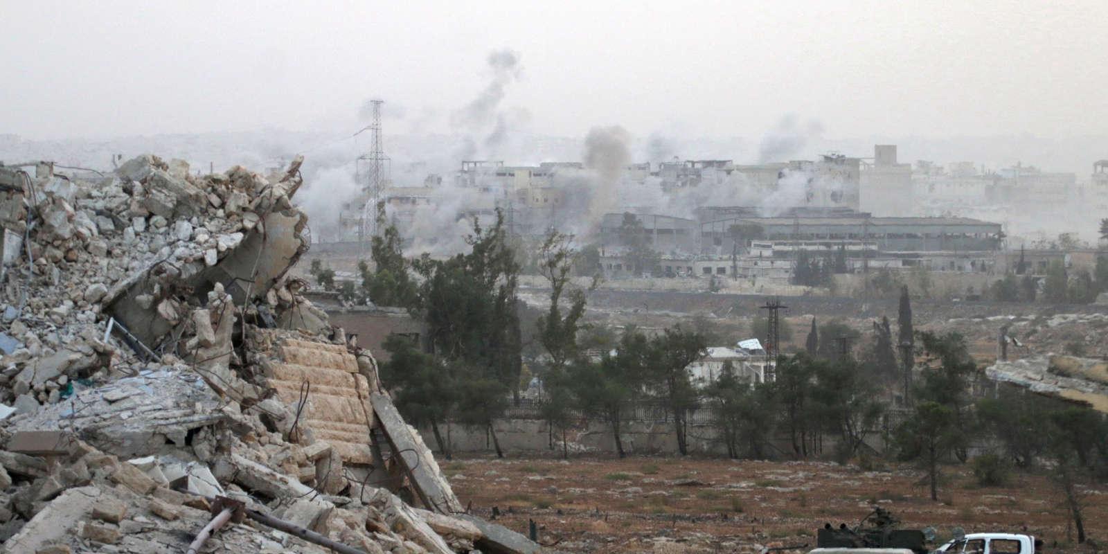 Le plus grand hôpital des quartiers rebelles de la ville a ainsi été une nouvelle fois la cible, samedi 1eroctobre.