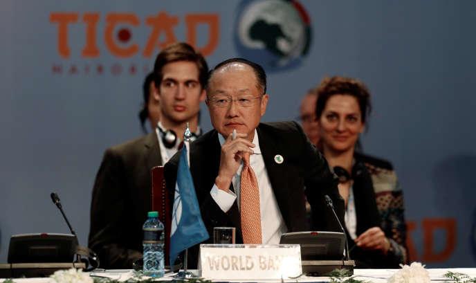 Le président de la Banque mondiale, Jim Yong Kim, à Tokyo le 27 août.