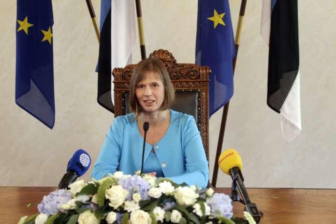 Entre 2004 et 2016, Kersti Kaljulaid a représenté son pays à la Cour des comptes européennes.