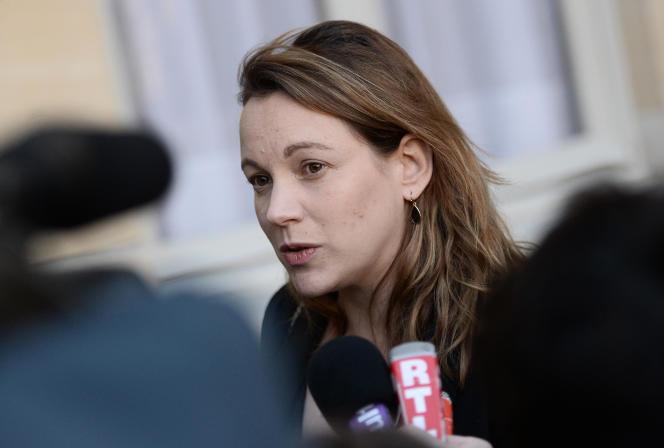 Axelle Lemaire, secrétaire d'Etat chargé de l'économie numérique, en décembre 2015.