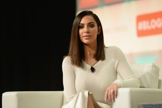 La vedette américaine Kim Kardashian victime d'un vol à main armée, le 3 octobre, àParis.