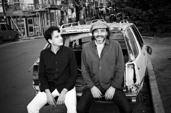 Le pianiste Baptiste Trotignon et le percussionniste argentin Minino Garay.