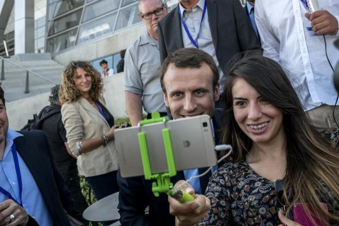 Emmanuel Macron,lors du Sommet des réformistes européens, à Lyon,le 24septembre.