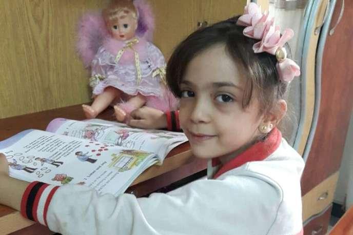 La jeune Bana Al-Abed, 7 ans, habitante d'Alep.