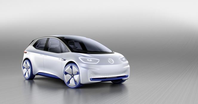 Le concept-car I.D. de Volkswagen.