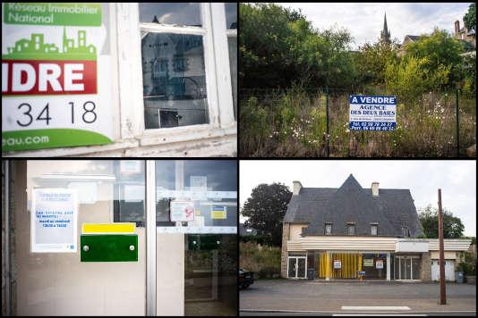 Le boom de l'immobilier ne touche pas toutes les régions. A Ploubazlanec (Côtes-d'Armor), certains biens ne trouvent pas preneur