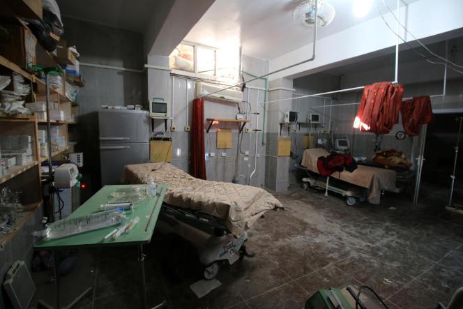 Selon l'OMS, six établissements hospitaliers fonctionnent encore, dont un seul peut soigner les grands blessés.