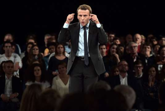 Emmanuel Macron à Strasbourg, le 4 octobre.