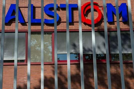 L'usine Alstom de Belfort, le 4 octobre.