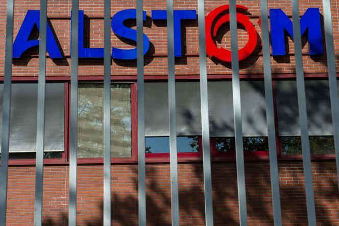 Sur le site d'Alstom à Belfort, le 4 octobre.