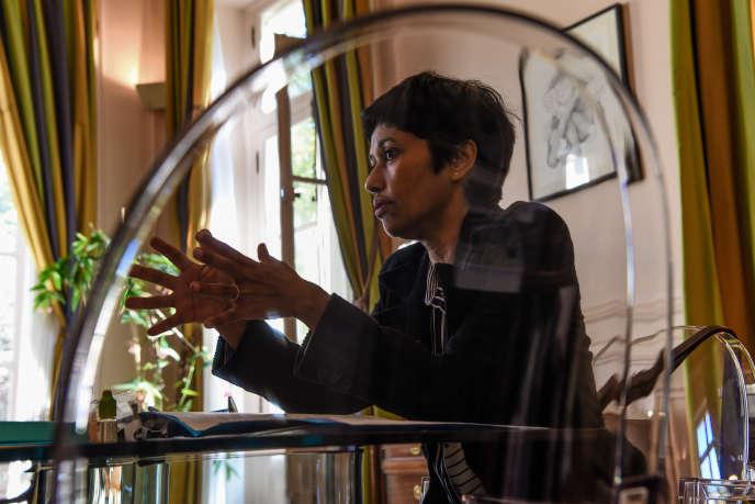Ericka Bareigts, au ministère des outre-mer, à Paris, le 3 octobre.