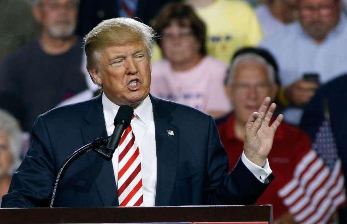 Donald Trump, le 4 octobre à Prescott Valley en Arizona.