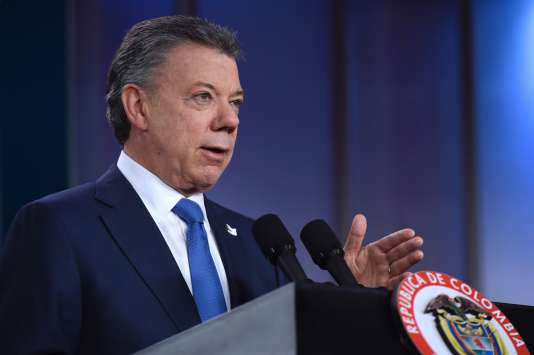 Juan Manuel Santos le 5 octobre.