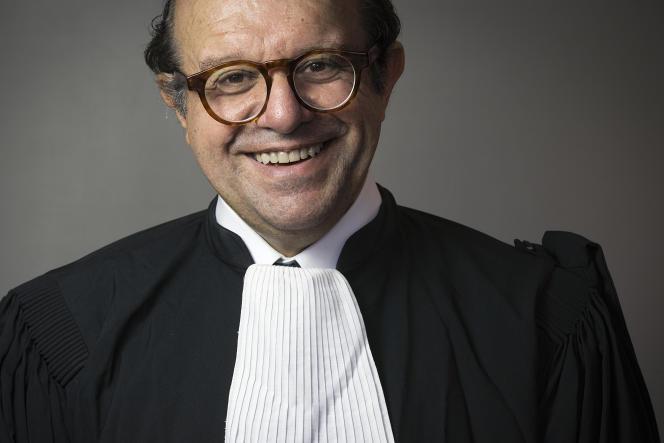 Maître Hervé Temime, à Paris, le 9 october 2014.