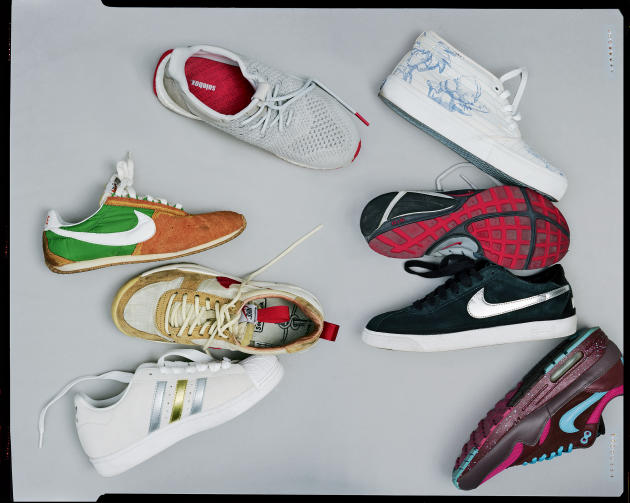 Toutes les sneakers présentées dans cet article proviennent de la collection d'Arthur Kar, qui en possède environ 400 paires.