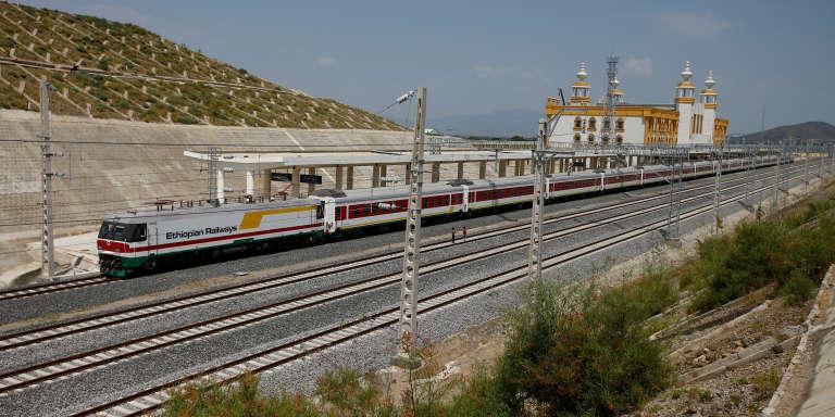 La nouvelle gare d'Adama, dans la région ethiopienne Oromia, le 24 septembre 2016.