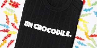Ceci n'est pas un crocodile mais un Lacoste.