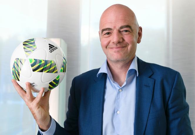 Le président de la FIFA, Gianni Infantino, le 5 octobre à Zurich.