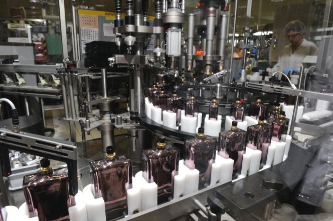 L'usine Shiseido de Gien (Loiret), en2013.