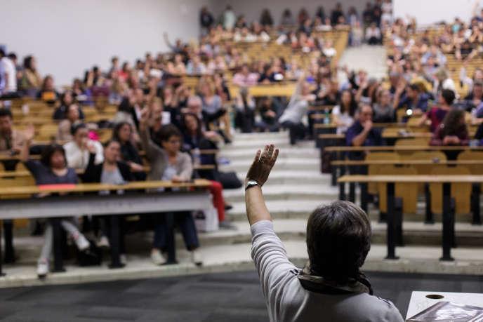 Les enseignants-chercheurs et le personnel administratif de l'UFR de psychologie de l'université Toulouse Jean-Jaurès ont voté la fin de la grève, mercredi 5 octobre.