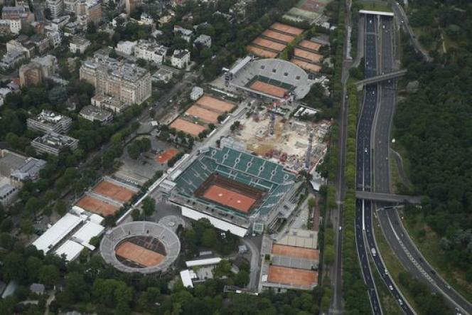 Roland-Garros et le jardin des serres d'Auteuil.