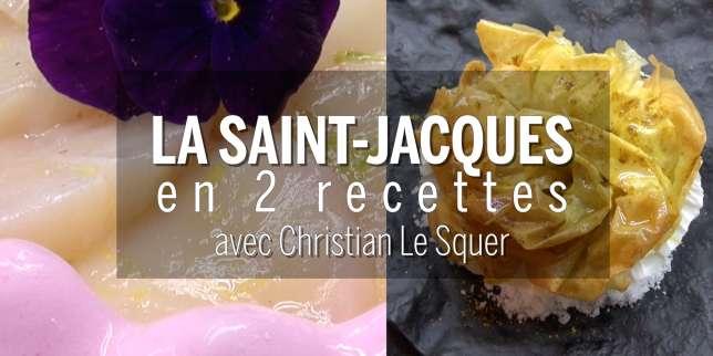 Recettes comment cuisiner la saint jacques avec - Comment cuisiner les coquilles st jacques congelees ...
