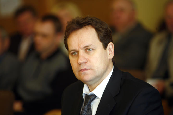 Valdemar Tomasevski à Vilnius, en avril 2009.