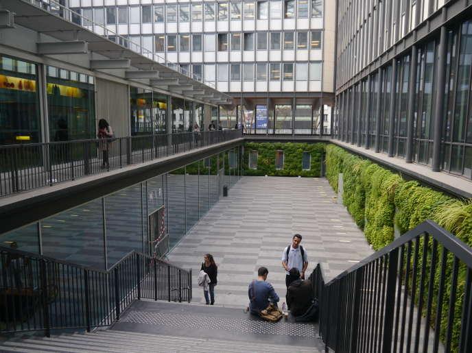 L'Université Pierre-et-Marie-Curie, à Paris, en septembre 2016.