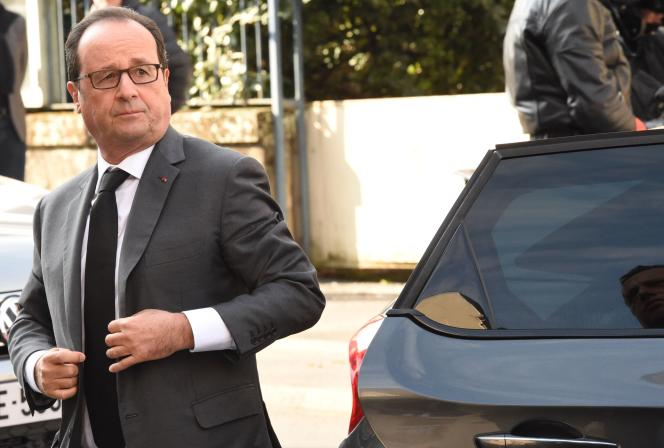 François Hollande samedi 8 octobre à Brive-la-Gaillarde (Corrèze).