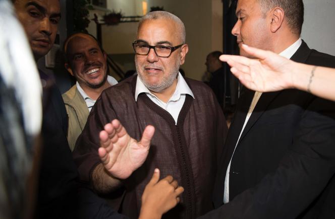 Abdelilah Benkirane, le premier ministre marocain, le 8 octobre.