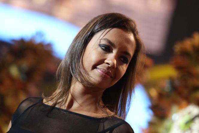 Karine Le Marchand en décembre 2013.