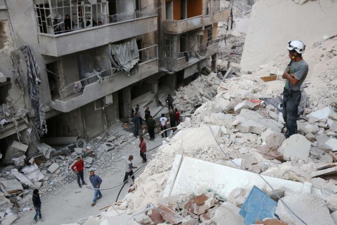 Alep, le 4 octobre.