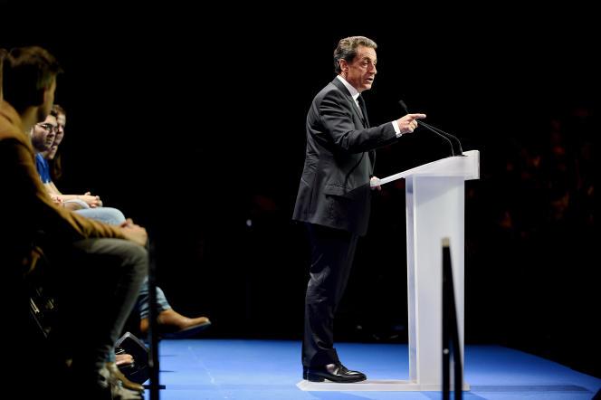 Metting de Nicolas Sarkozy au Zénith de Paris le 9 octobre.