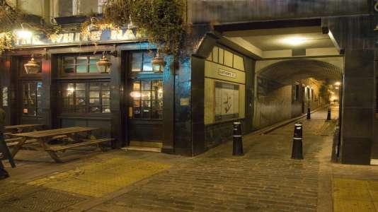 Le quartier de Whitechapel et ses ruelles inquiétantes...