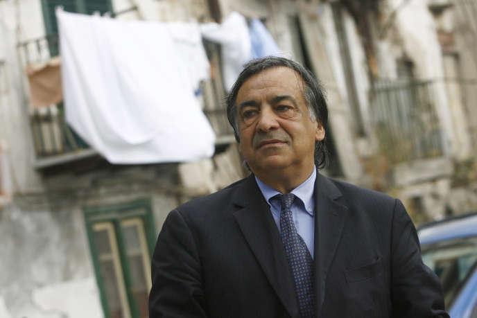 Le maire de Palerme, Leoluca Orlando, en mai 2012.