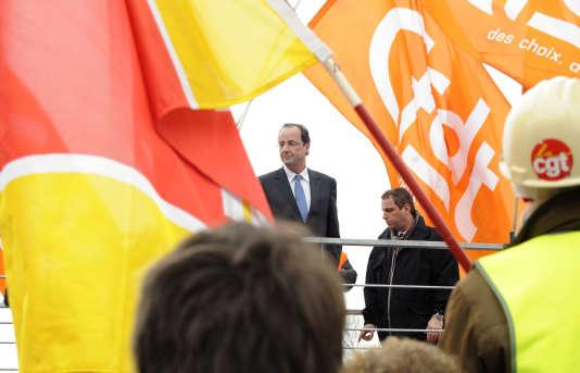 Depuis le début de son quinquennat, M. Hollande est déjà venu à deux reprises à Florange, en septembre 2013 et novembre 2014, des visites chaque fois assez chahutées.