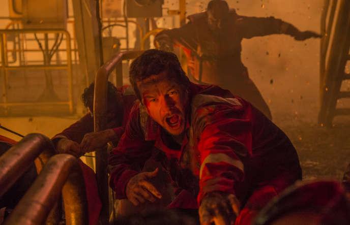 Mark Wahlberg dans «Deepwater».