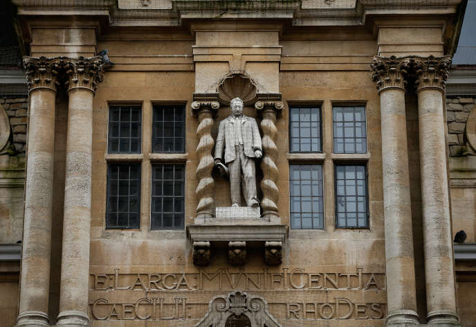 Oriel College, à Oxford (Royaume-Uni)